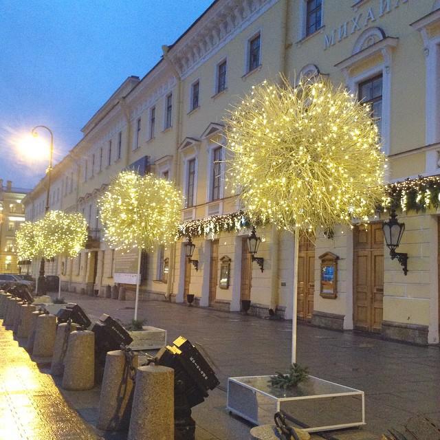 фотки новогодних улиц