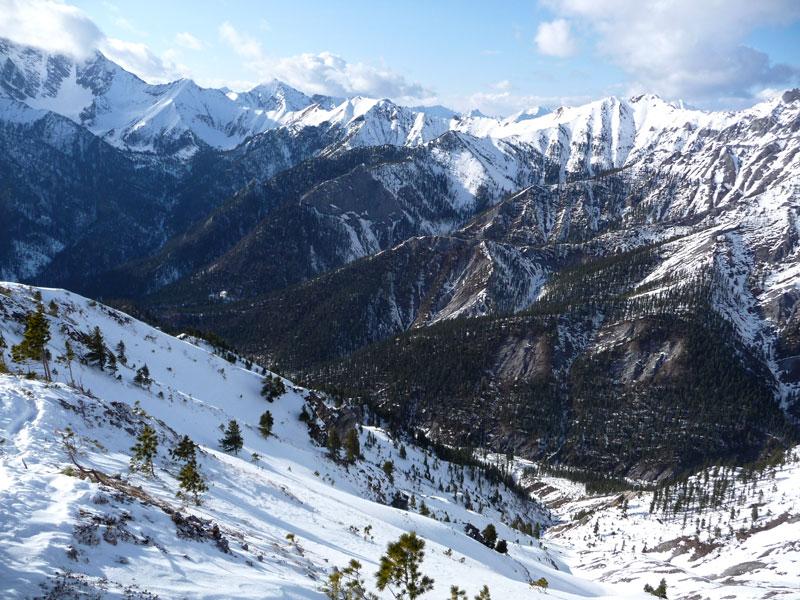 зимняя тункинская долина