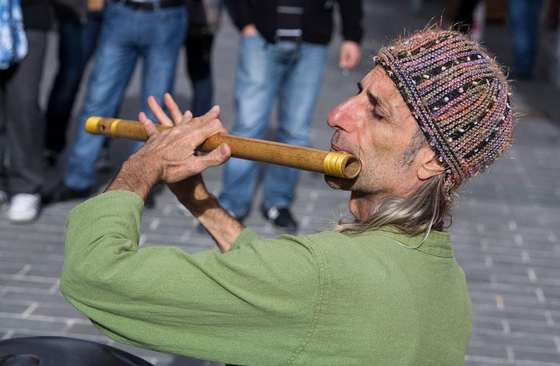 Уличные музыканты Стамбула