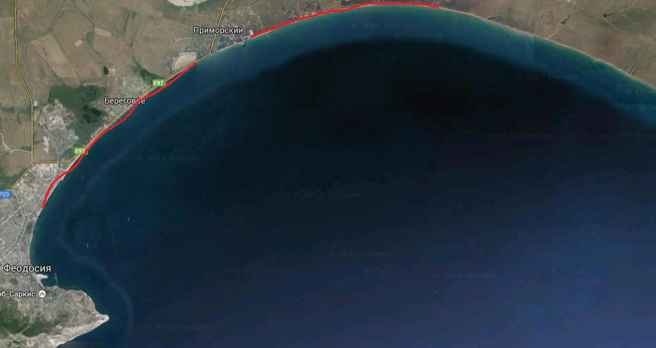 Юго – восточное Черного моря