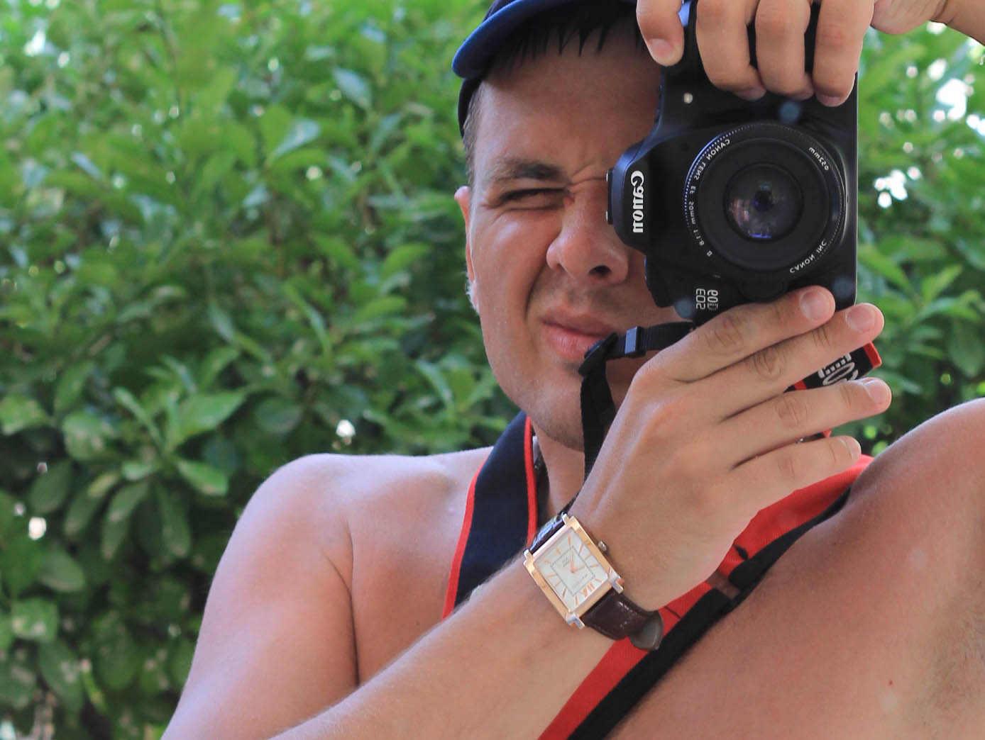 Как сделать фотографии на зеркалку