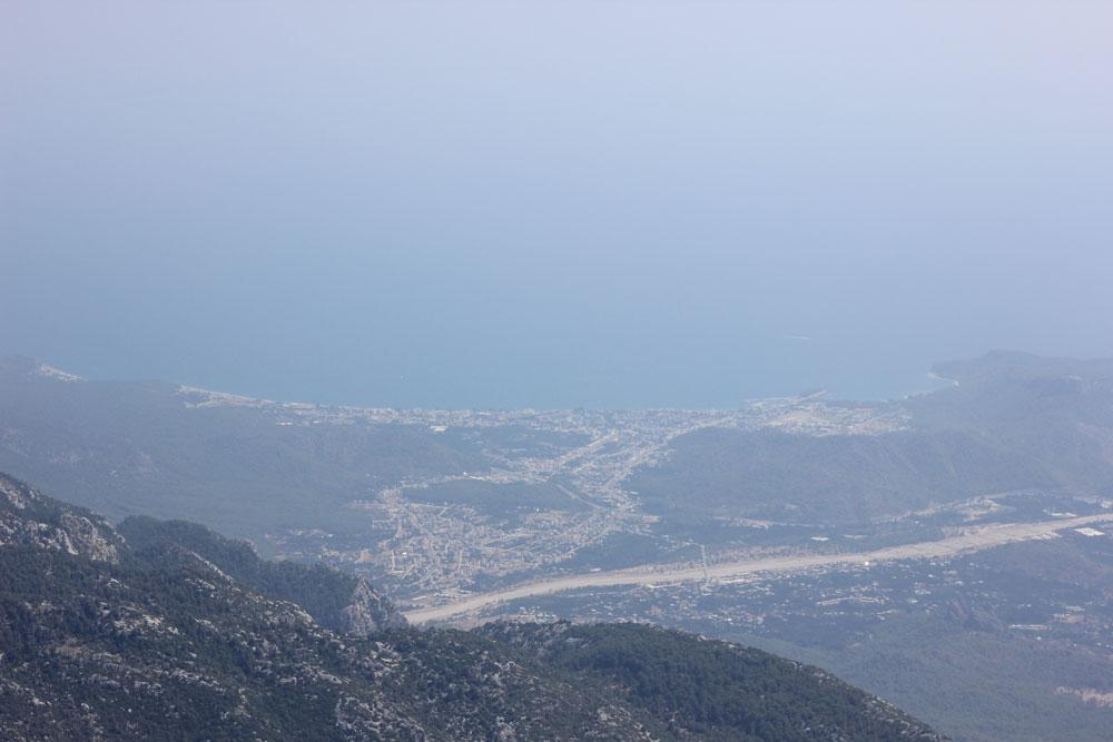 вид с горы Олимпос или Тахталы
