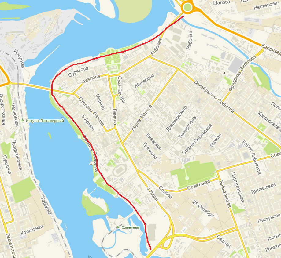 Где в Иркутске покататься на велосипеде