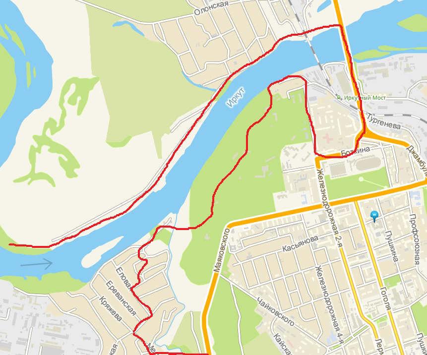 прокатиться на велосипеде по Иркутску