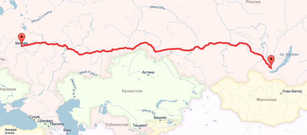 Как добраться до Байкала на поезде, самолете, авто?