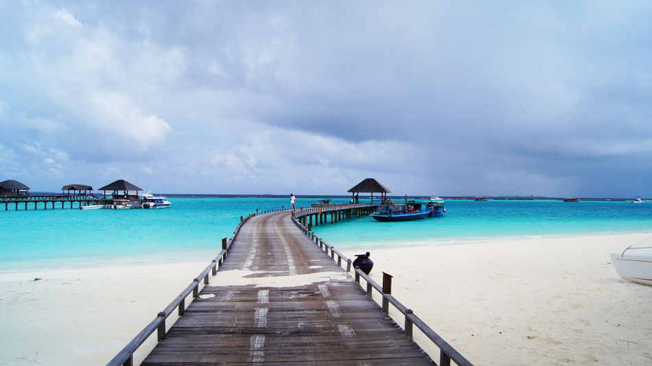 поехать отдохнуть на Новый год на Мальдивы