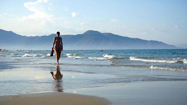 Пляж отеля Дессоле