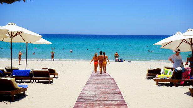 Пляж отеле в Dessole