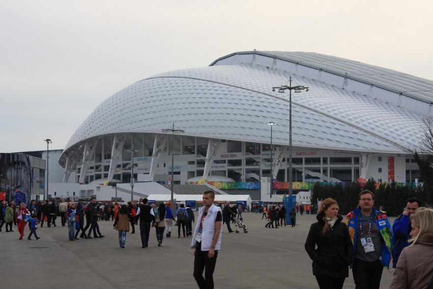 Один день в Олимпийском Сочи