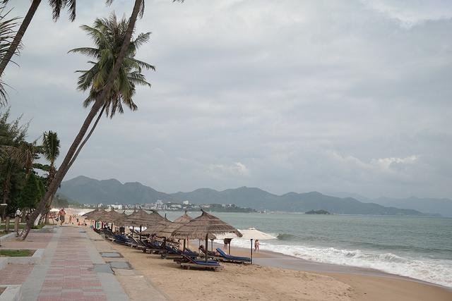 лучший городской пляж Нячанга