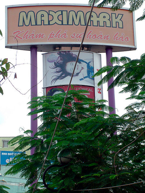 торговый центр Нячанга maximark