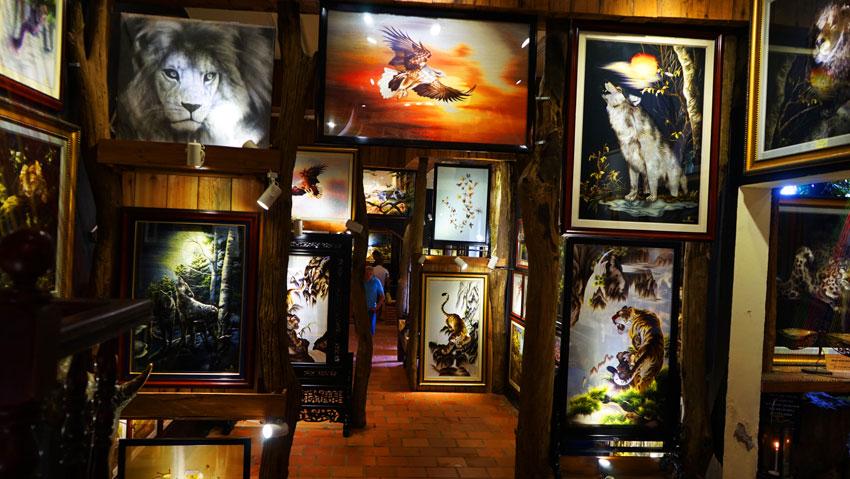 шелковая фабрика Вьетнам фотографии
