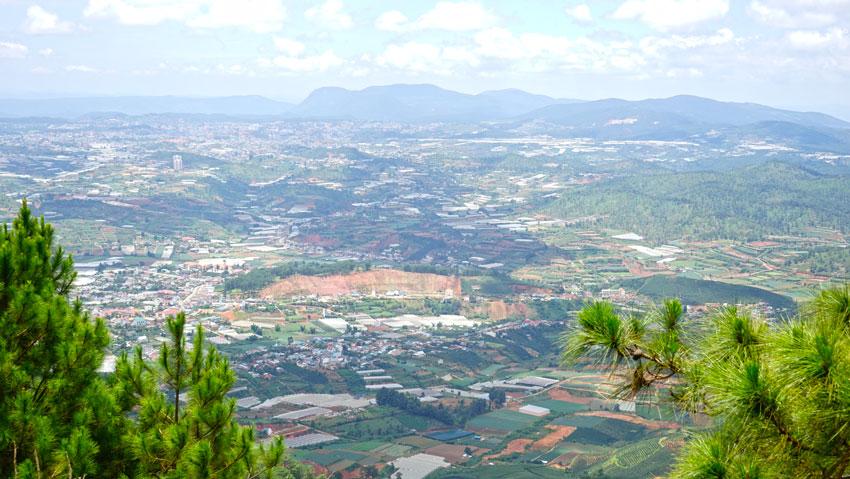 гора Lang Biang