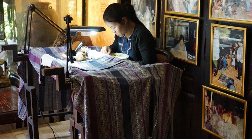 фото шелковой фабрики XQ Далат Вьетнам