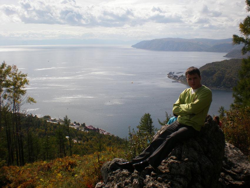 Пик Черского на горнолыжной базе 'Прибайкальская' в Листвянке