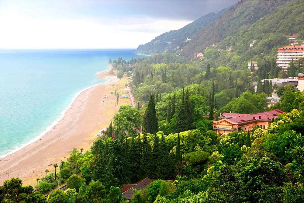 хочу на юга абхазия