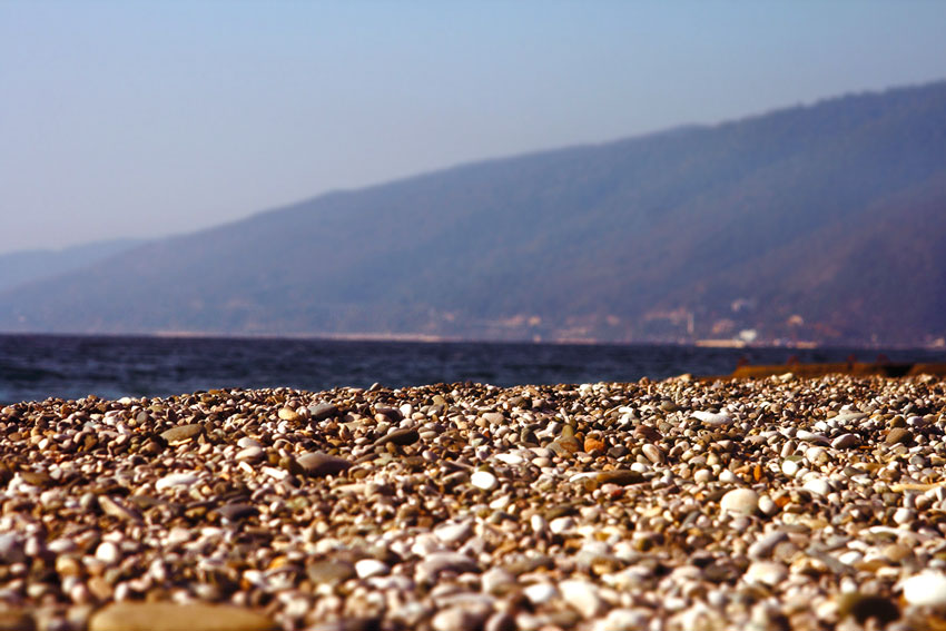 гагра фото пляжа и города