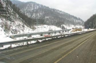 Как добраться зимой на машине в Сочи, сколько ехать до Сочи