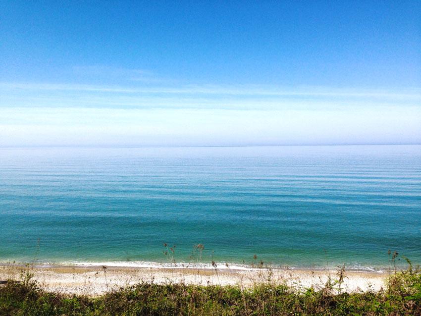 пляжи Новый Афон