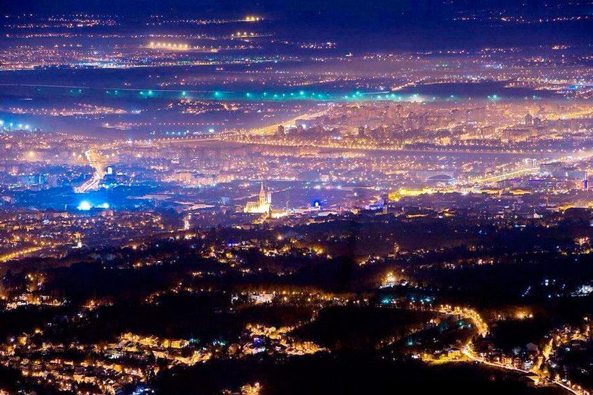 Загреб-ночью