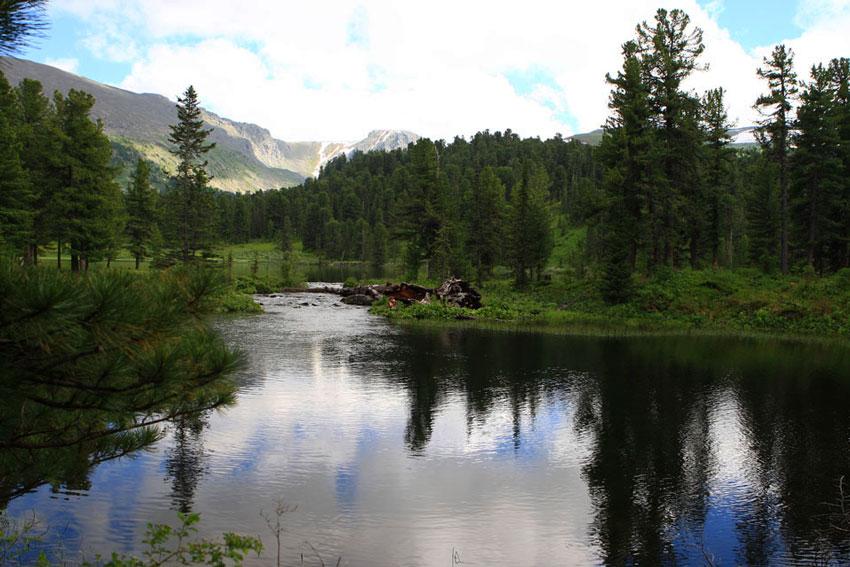 Каракольские озёра на Алтае