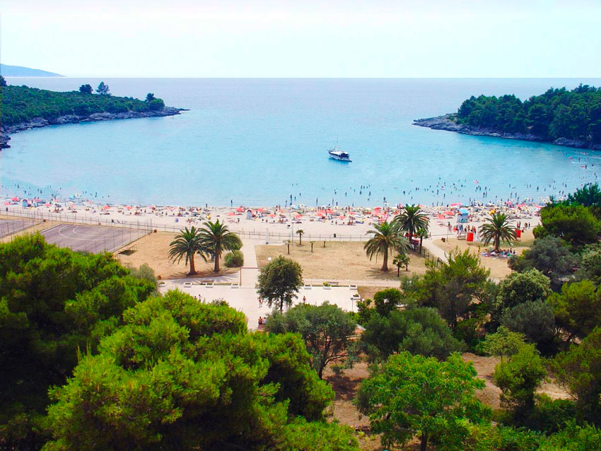 Отели Черногории с собственным пляжем
