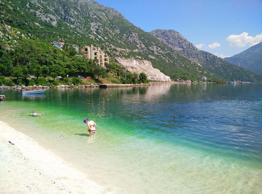 отдых у моря в черногории
