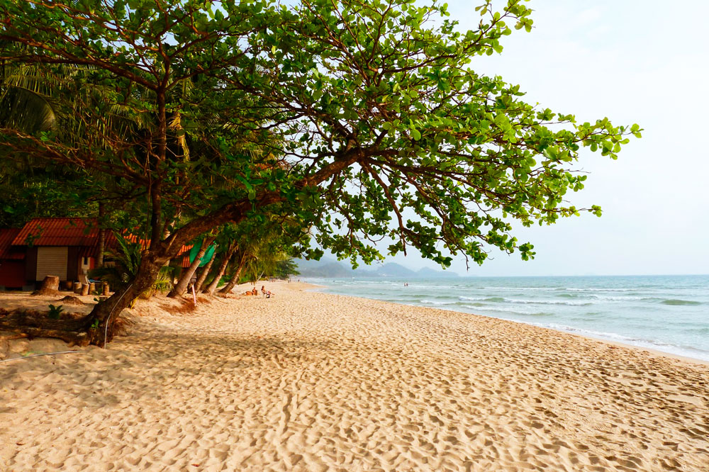 Пляж Ко чанг Хаад Сай Као