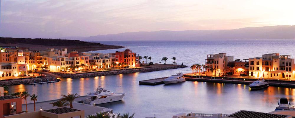 Вечерний закат в Аммане