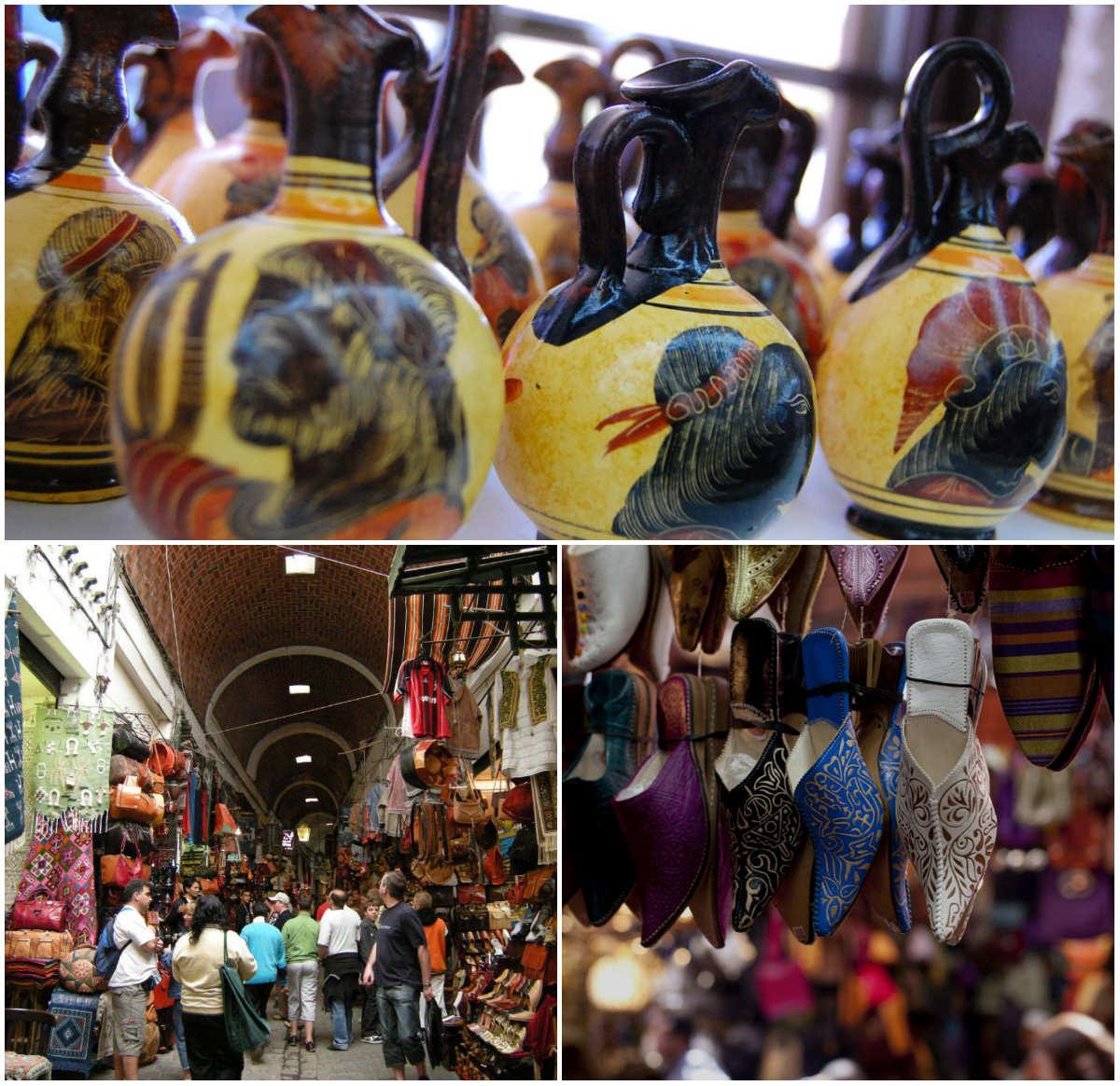 Где купить сувениры в Тунисе