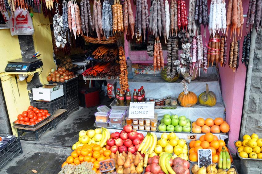 рынки и местная еда
