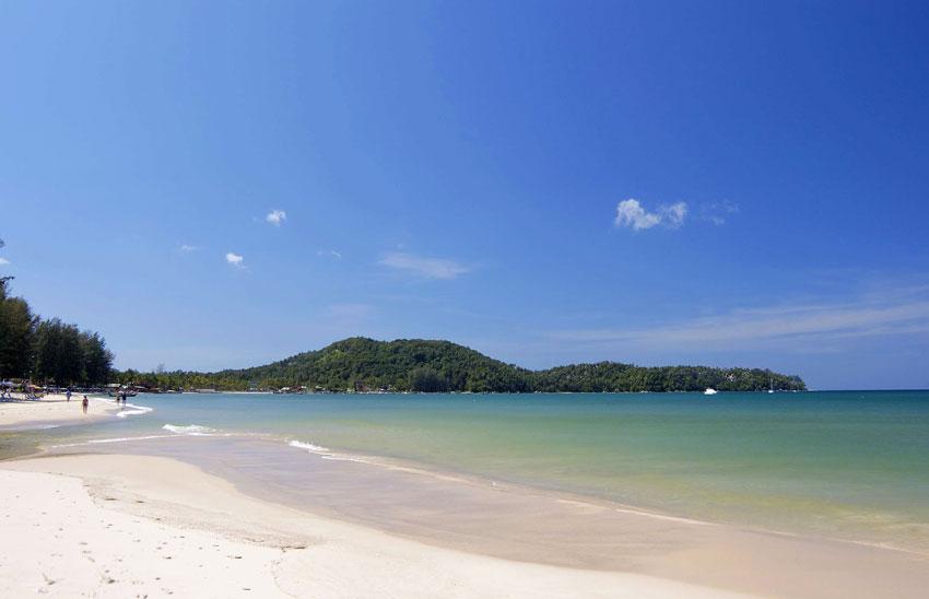 пляж на острове Пхукет Банг Тао