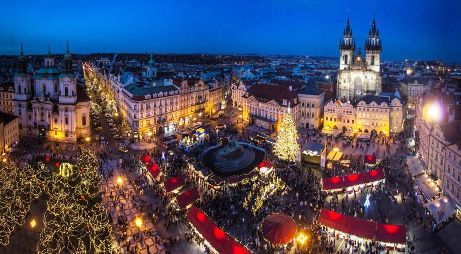 Новый Год в Праге + Вена + Мюнхен* (включен предновогодний ужин)