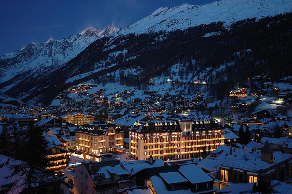 Стоимость путевки в Швейцарию на Новый год