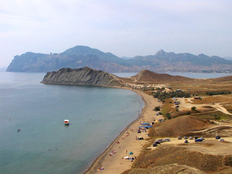 море песчаный пляж отдых