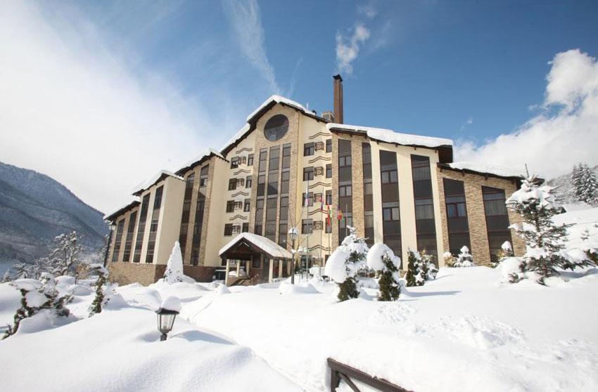 беларусь отель на красной поляне зимой