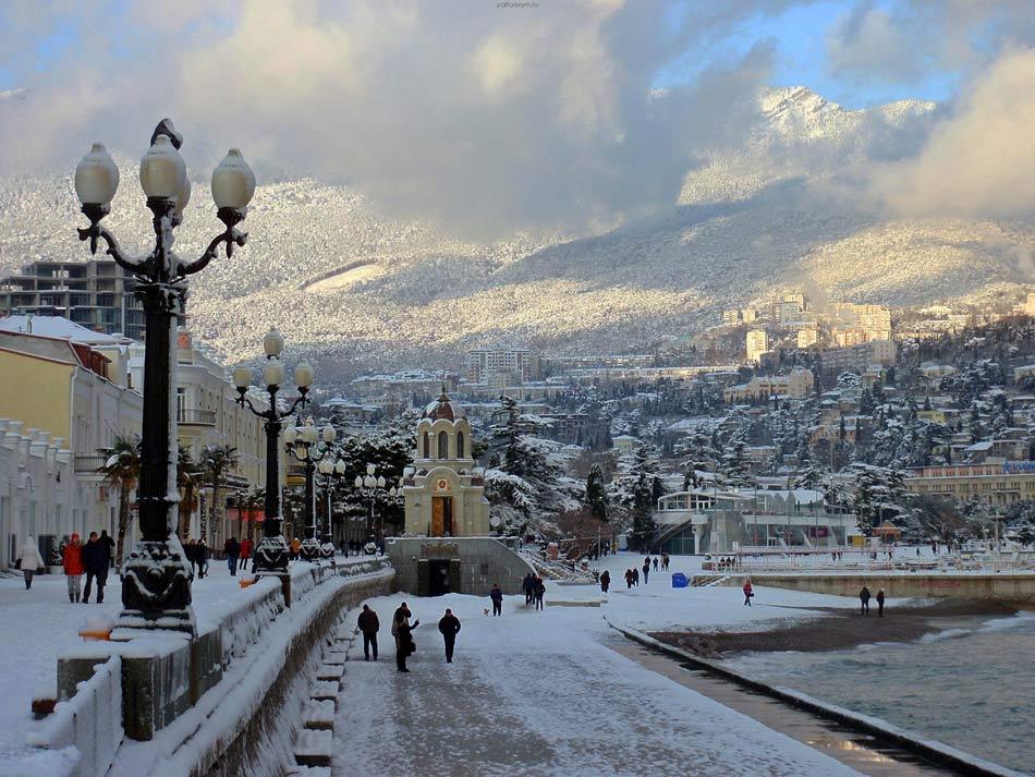 Крым зимой отдых