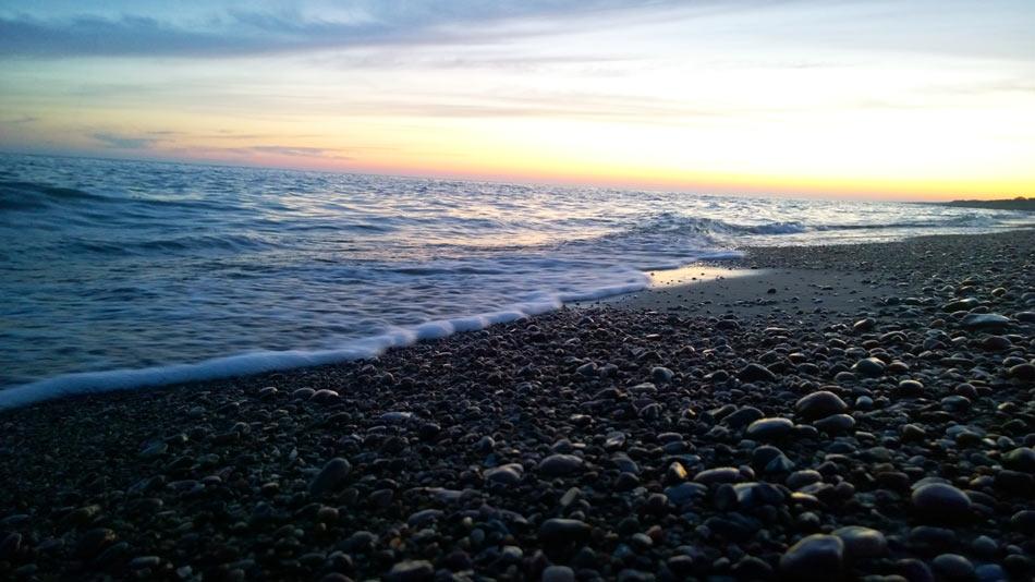 песчаные пляжи россии