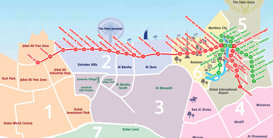 Как добраться из аэропорта в Дубай