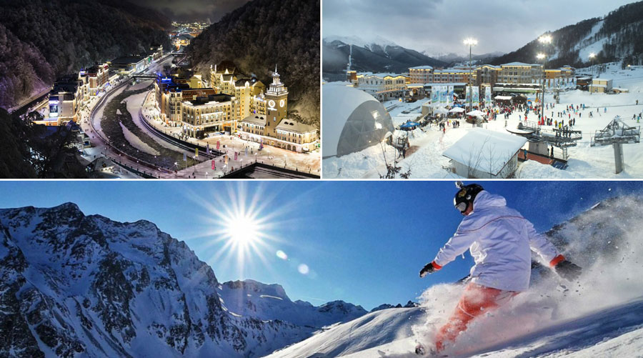 Сочи горнолыжные туры цены