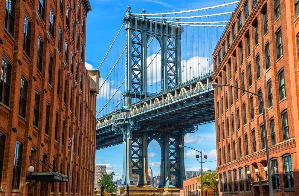 район dumbo в нью-йорке