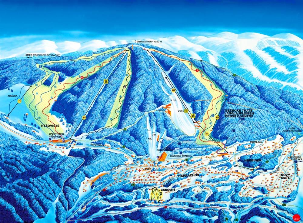 чешские горнолыжные курорты