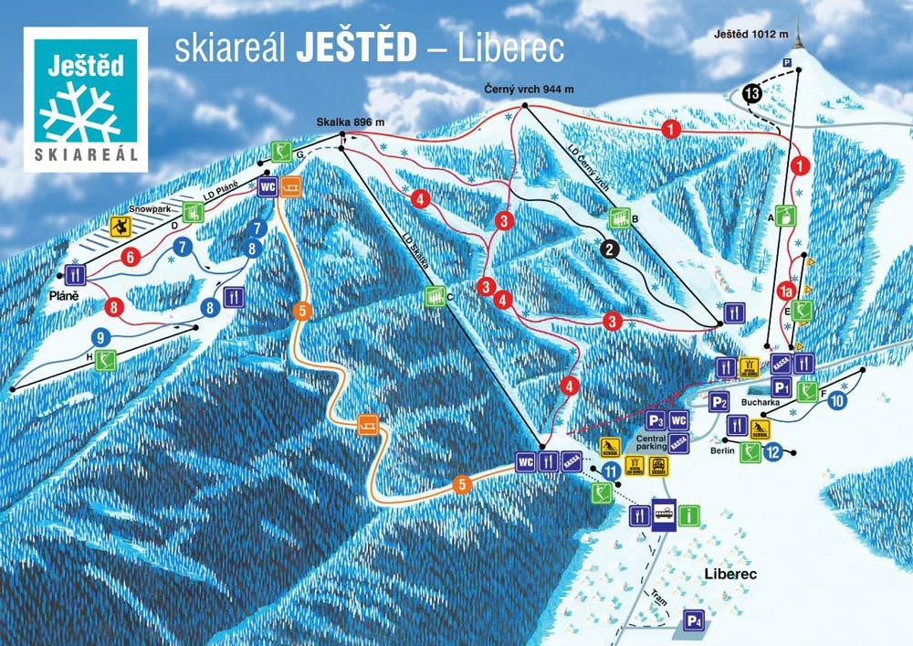 горнолыжные курорты Чехии как добраться