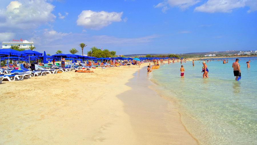айя напа пляжи
