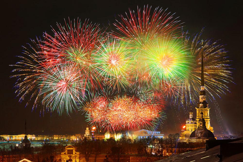 Погода в Питере на Новый год