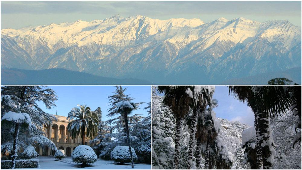 Изображение отдыха в Абхазии