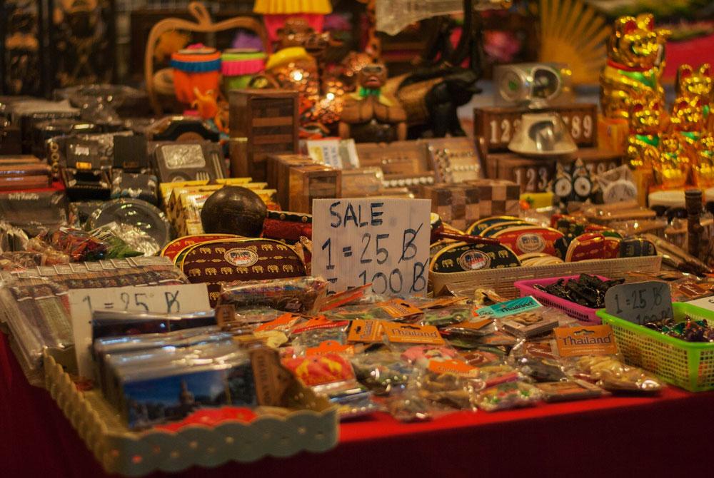 шоппинг на курортах Тайланда