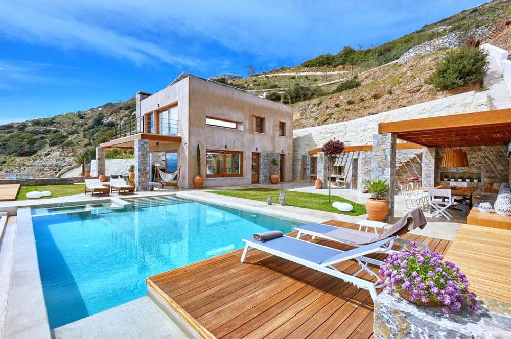 Аренда дома на Крите на берегу моря