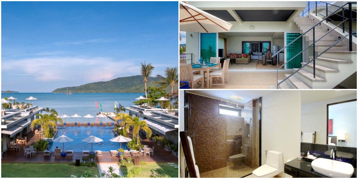 лучший отель пхукета с собственным пляжем