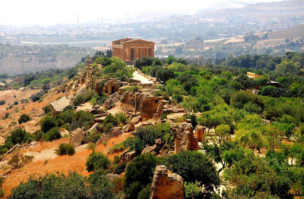 Долина храмов Италия